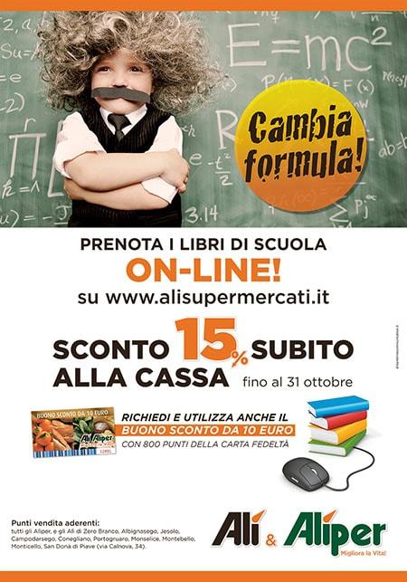 Supermercati Alì - Cambia formula