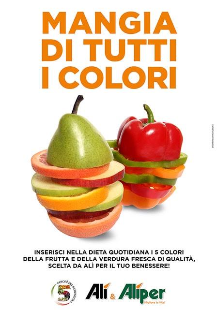 Supermercati Alì - Mangia di tutti i colori