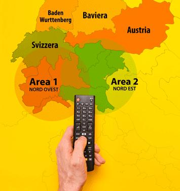 Area pianificazione mappa